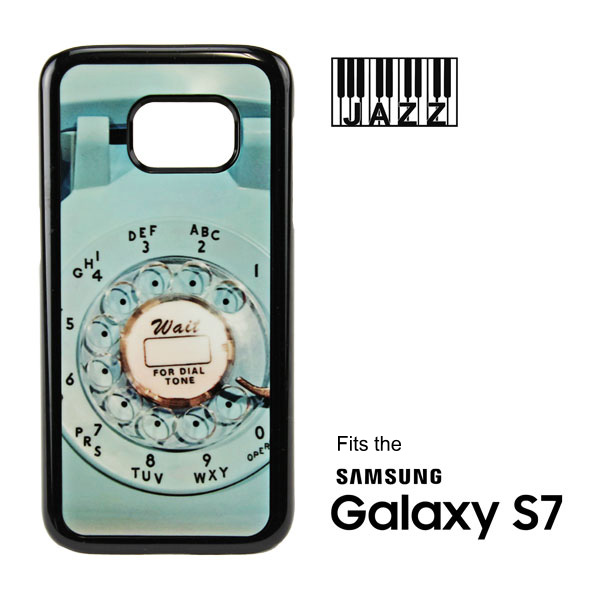 Samsung S7® Black Jazz™ Plastic Case