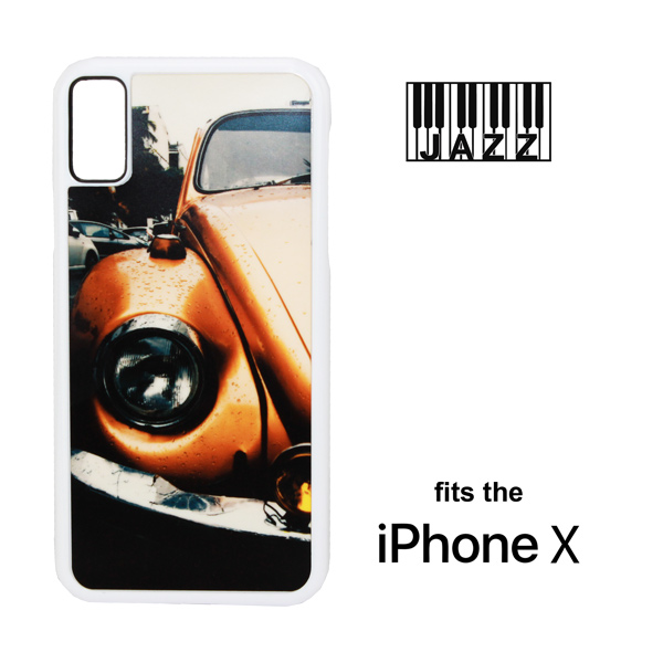 iPhone X/XS Jazz Plastic Case - White