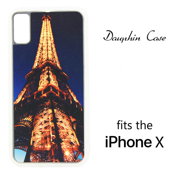 iPhone® X/XS Dauphin™ Hard Rubber Case - Clear