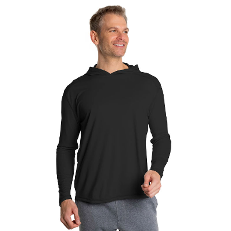 Solar Shirt Hoodie - No Pocket - Adult - Carbon