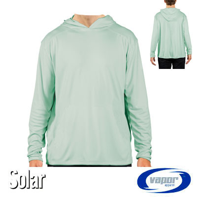 Solar Shirt Hoodie - No Pocket - Adult - Seagrass