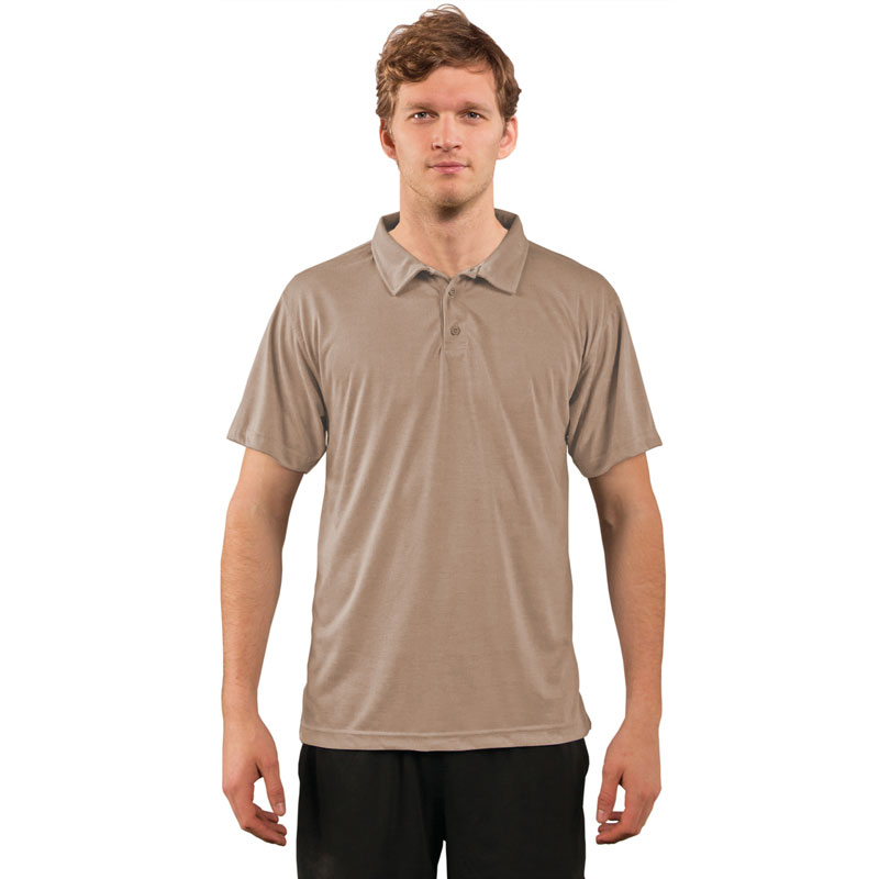 Vapor® Performance Adult Polo Golf Shirt - Sand