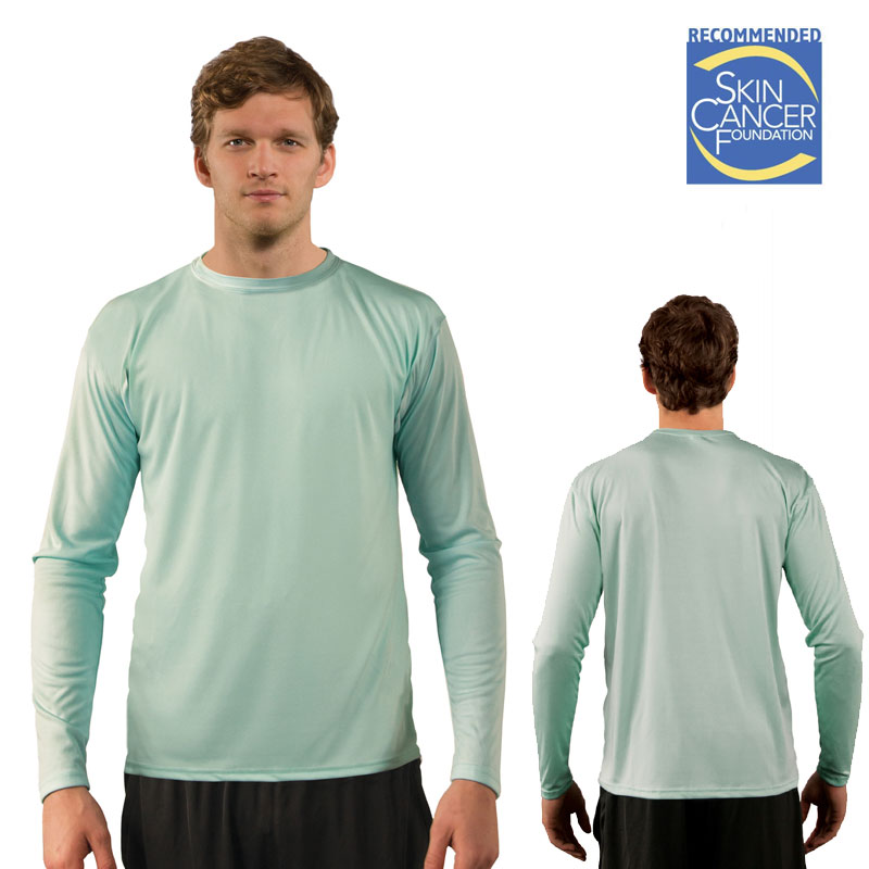 Sublimation Solar Long Sleeve T - Adult - Seagrass