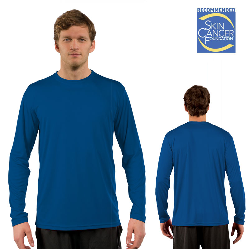 Vapor Solar Long Sleeve Tee - Adult - Royal Blue