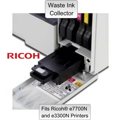 Ricoh® e7700 Ink Waste Collector Unit