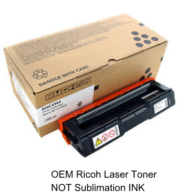 Black Toner Cartridge for the Ricoh SP C250dn