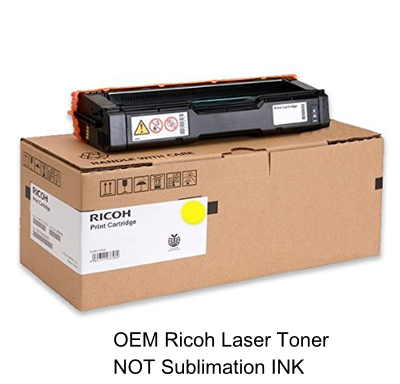 Yellow Toner for the Ricoh C250dn