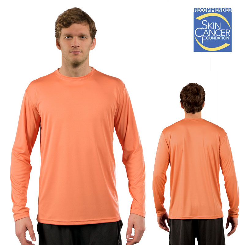 Sublimation Solar Long Sleeve Tee - Adult - Citrus