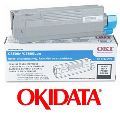 OKI C5500n Toner Cartridge - Black