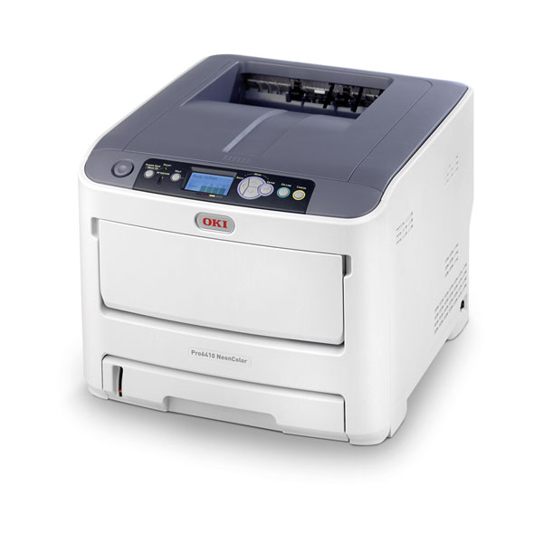 OkiData® Pro6410 NeonColor 8.5in Laser Printer