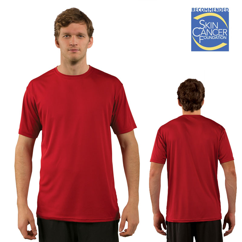 Mars Red Solar Short Sleeve Shirt - Adult