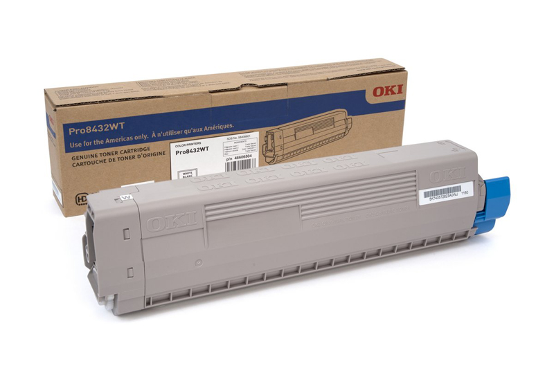 Okidata® Toner Cartridge for Pro8432WT - White