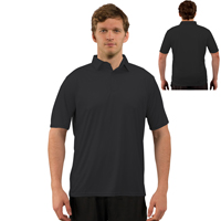 Vapor® Apparel Solar Adult Polo - Carbon