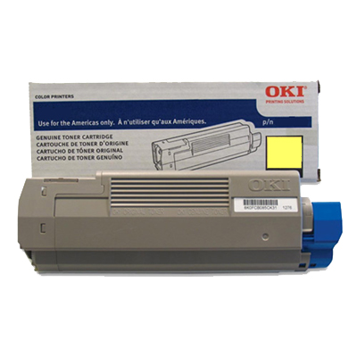 OKI C831TS Toner Cartridge - Yellow