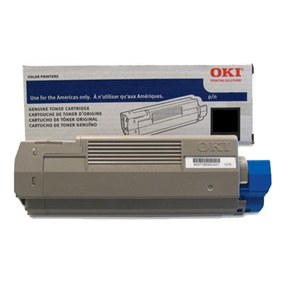 OKI C831TS Toner Cartridge - Black