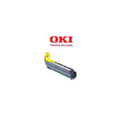 Okidata C8600 Image Drum, Yellow