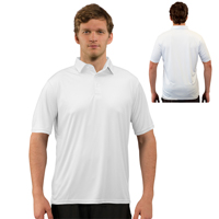 Vapor® Apparel Solar Adult Polo - White