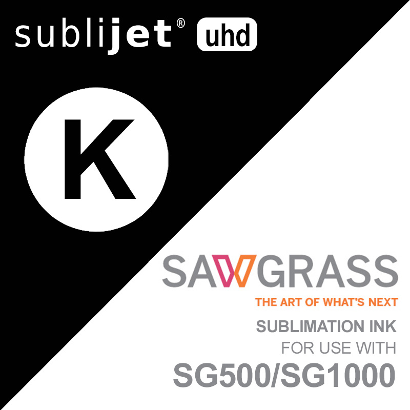 SG500/SG1000 SubliJet UHD Ink Carts - 31mL - Black