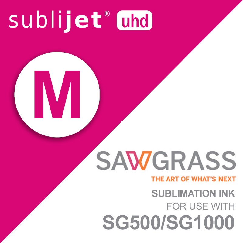 SG500/SG1000 SubliJet UHD Ink Carts - 31mL - Magenta