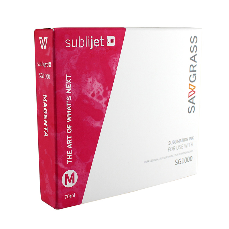 SG1000 SubliJet UHD Extended Ink Cart - 70mL - Magenta