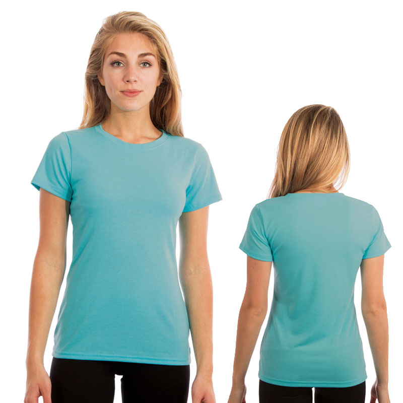 Vapor Ladies SlimFit Short Sleeve Tee - Water Blue