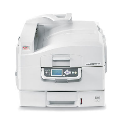 Oki C920WT White Toner Color Laser Printer-Tabloid