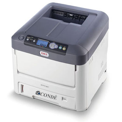 Oki C711WT White Toner Color Laser Printer- A Size