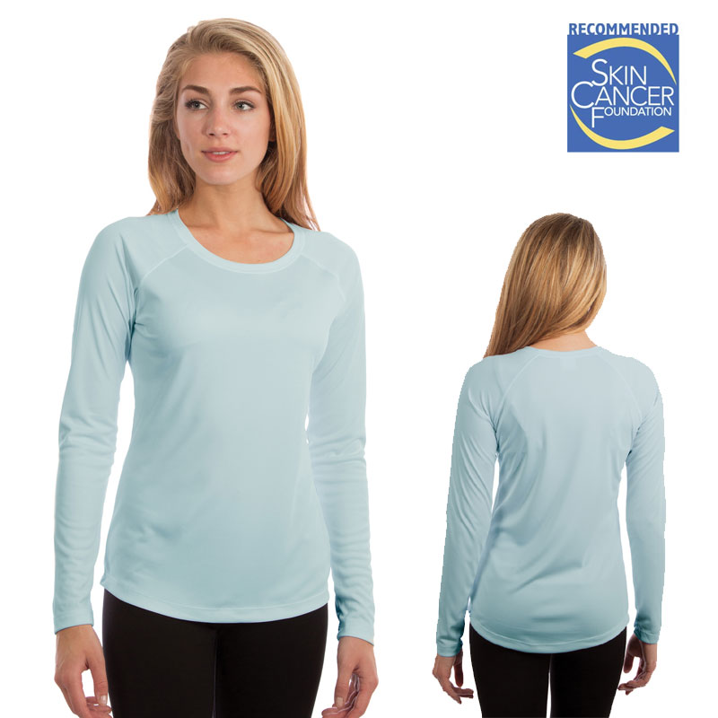 Vapor Ladies Solar T Long Sleeve - Arctic Blue