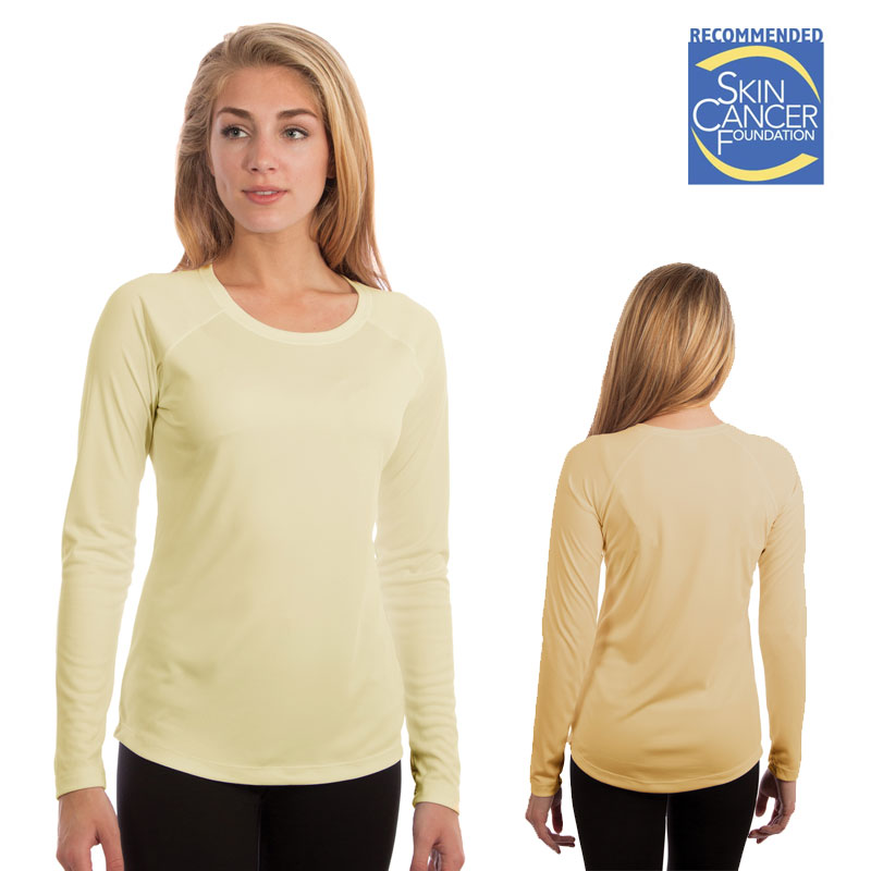 Vapor Ladies SolarT Long Sleeve - Pale Yellow