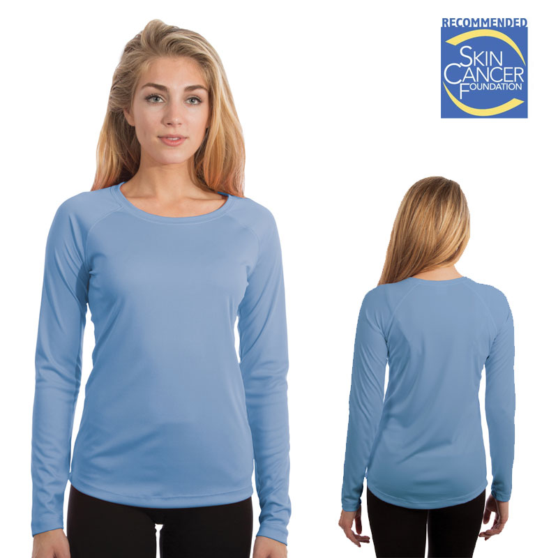 Vapor Ladies SolarT Long Sleeve - Columbia Blue