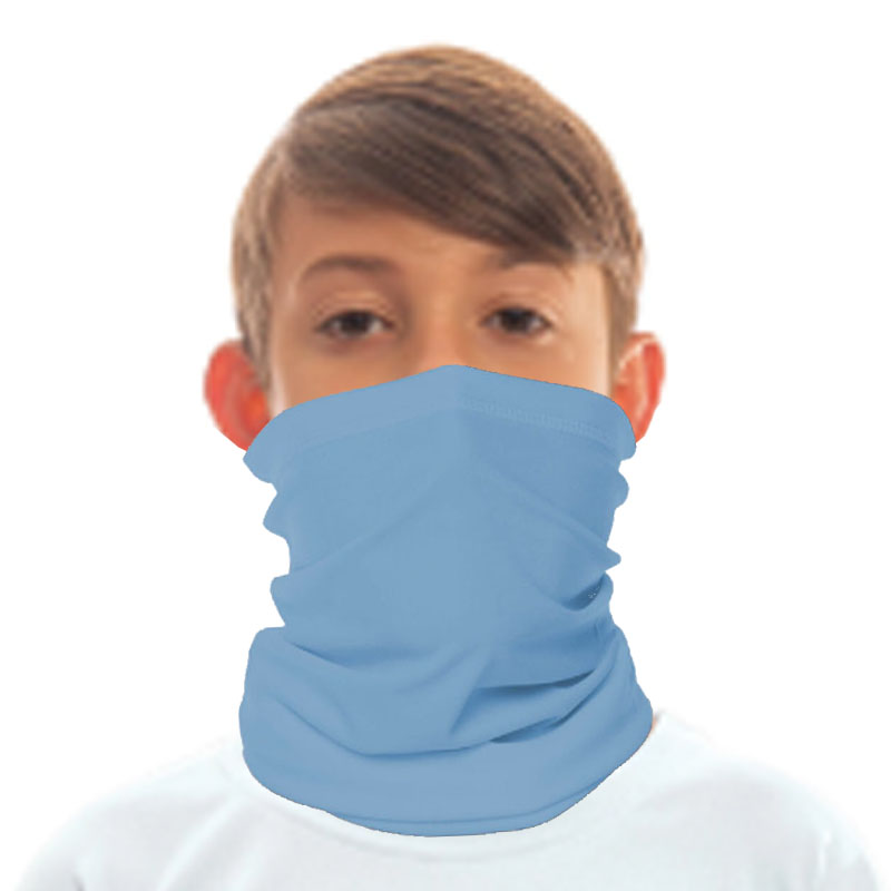 Vapor® Solar™ Fabric Neck Gaiter  - Columbia Blue - Medium - 8 X 16