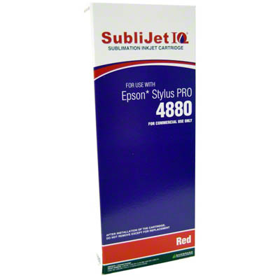 SubliJet IQ Red 220ml Ink Cartridge
