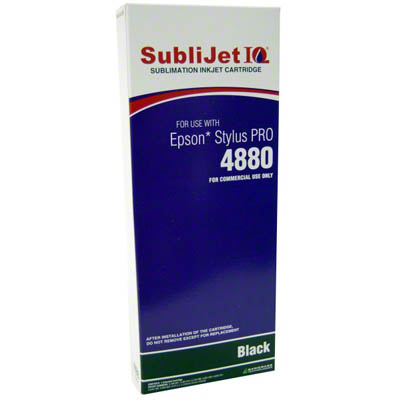 SubliJet IQ Black 220ml Ink Cartridge
