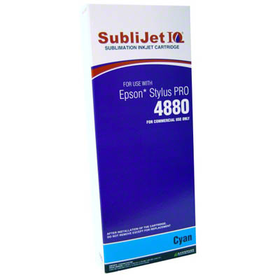 SubliJet Cyan 220ml Ink Cartridge