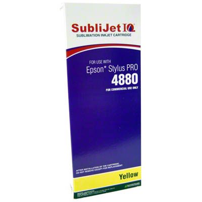 SubliJet IQ Yellow 220ml Ink Cartridge