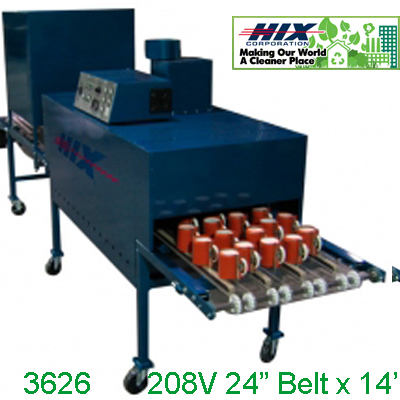 Hix® Mug Oven, SP362 Electric Conveyor Oven