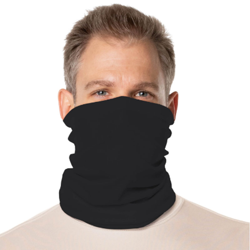 Vapor® Solar™ Fabric Neck Gaiter Endless Face Mask - Carbon - 9.5