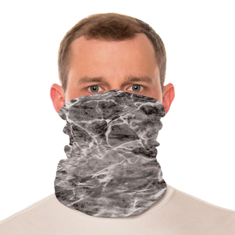 Vapor® Solar™ Fabric Neck Gaiter Endless Face Mask - Mossy Oak Manta - 9.25