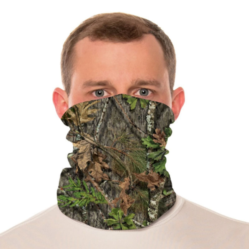 Vapor® Solar™ Fabric Neck Gaiter Endless Face Mask - Mossy Oak Obsession - 9.25