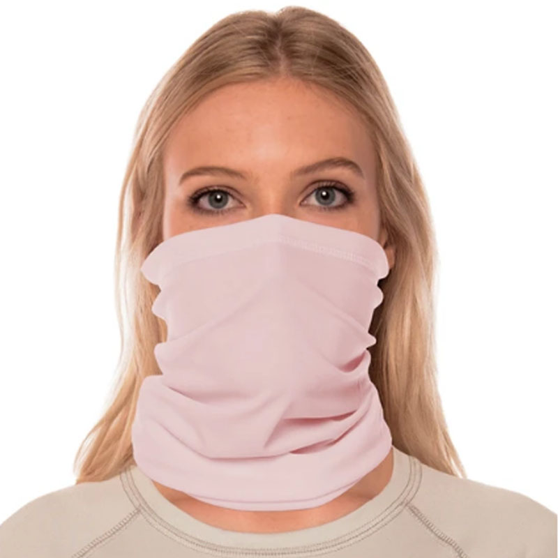 Vapor® Solar™ Fabric Neck Gaiter Endless Face Mask - Pink Blossom - 9.25