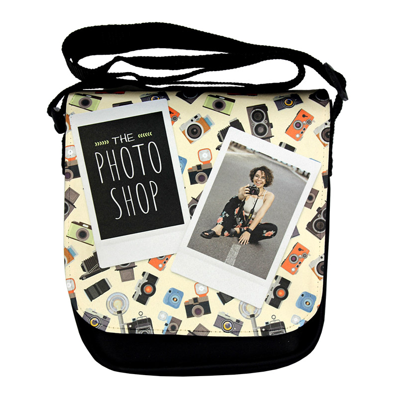 DyeTrans Sublimation Blank Small Shoulder Bag w/Flap