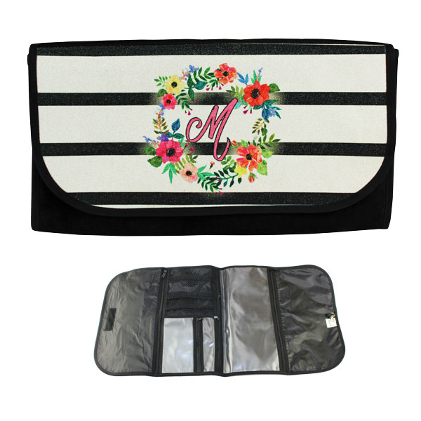 Sublimation Travel Wrap Roll Bag - Glitter Panel