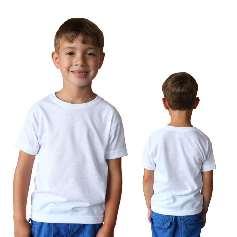 Sublimation Vapor® Basic Toddler Tee - White