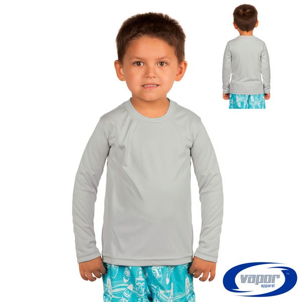 Toddler Long Sleeved Solar T - 4T - Pearl Gray
