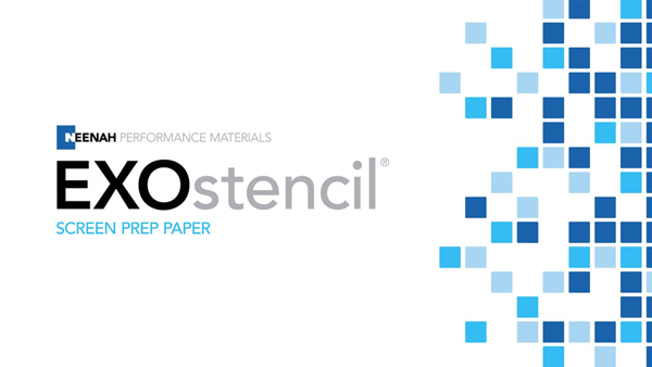 11x17 EXOSTENCIL™ Screen Prep Paper -10 sheets
