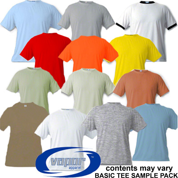 Vapor® Basic T Line Sample Pack -13 Shirts -