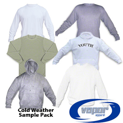 Cold Weather Shirt Sampler Kit - with 6 Shirts