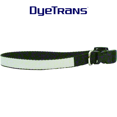 DyeTrans Sublimation Blank Dog Collar - Large - 16 - 20 Size Range