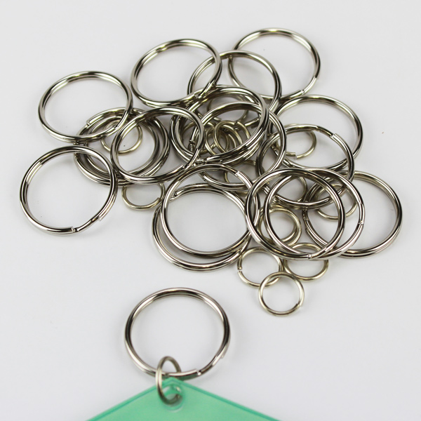 Split and Jump Rings for Key Tags -25 pack
