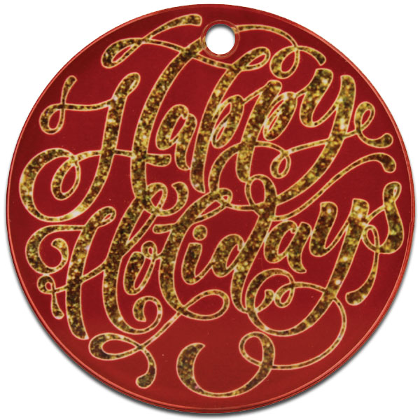 ColorLyte Sublimation Blank Acrylic Ornament - 3